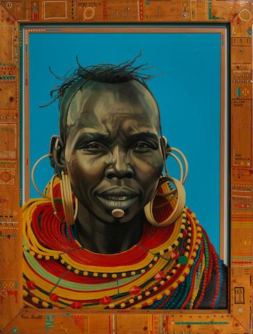 Eric Scott: Altar Peace For Africa, 1998,