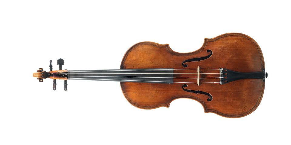 The Ex-Piozzi-Marquis-Doria Volckaert Maggini. An important Italian Violin circa 1700 ascribed to G.P.Maggini,Brescia. (1)