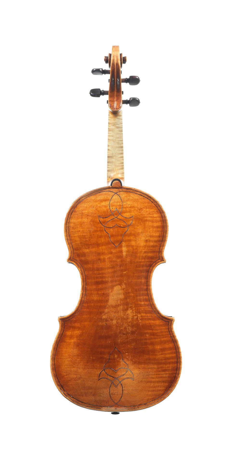The Ex-Piozzi-Marquis-Doria Volckaert Maggini. An important Italian Violin circa 1700 ascribed to G.P.Maggini,Brescia. (1)