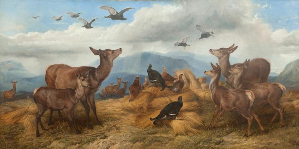 Richard Ansdell, RA (British, 1815-1885) Shepherd's Cover