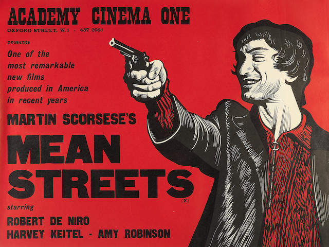 Mean Streets, Warner Brothers, 1973,