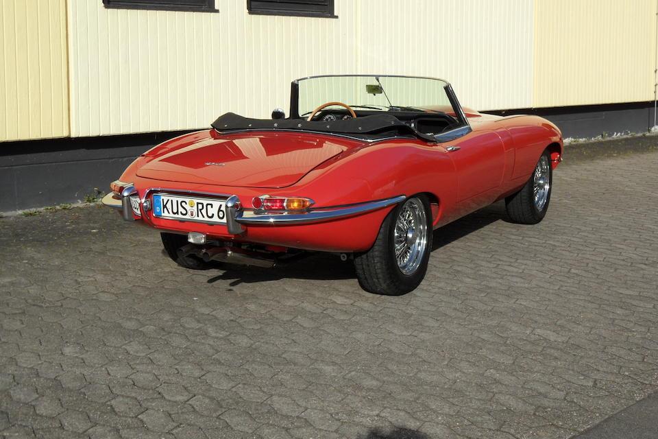 Schwetzingen Concours d'Élégance class-winning,1962 Jaguar E-Type 'Series 1' 3.8-Litre Roadster  Chassis no. 878722 Engine no. R9119-9