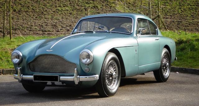 Original Left Hand Drive EU delivery new,1958  Aston Martin DB Mark III Sports Saloon  Chassis no. AM300/3/1577 Engine no. DBA/1189