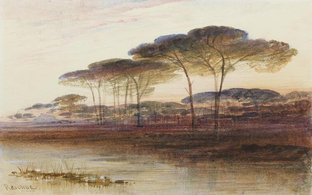 Edward Lear (British, 1812-1888) Ravenna