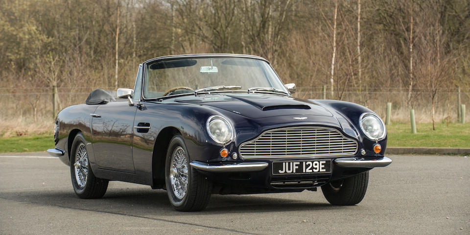 1967 Aston Martin DB6 'Mark 1' Volante Convertible  Chassis no. DBVC/3662/R Engine no. 400/3271