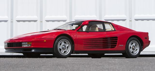 1986 Ferrari Testarossa  Chassis no. 62173