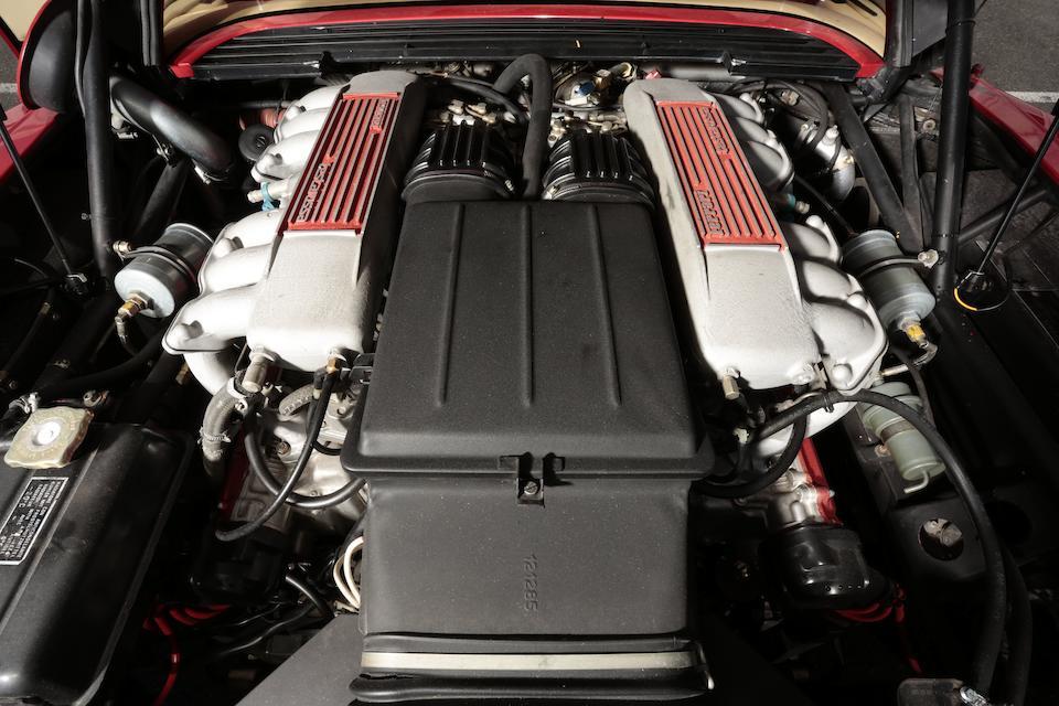 Monospecchio Monodado,1986 Ferrari Testarossa  Chassis no. 62173 Engine no. 26071