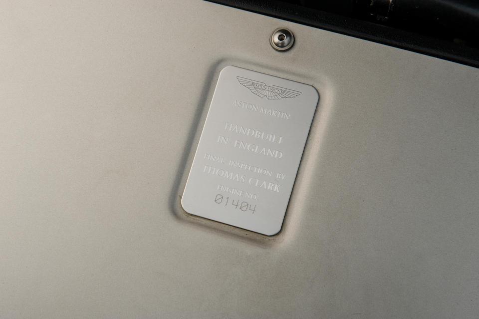 2004 Aston Martin Vanquish Coupé  Chassis no. 501316
