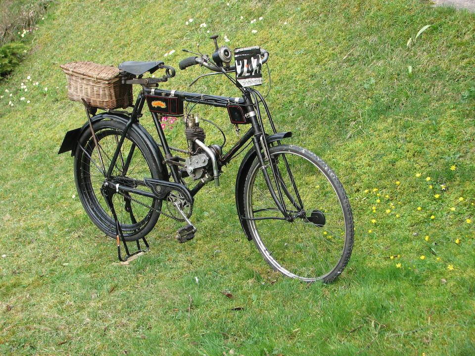 1913 J.E.S. 116cc Model A Frame no. 2-513 Engine no. 513