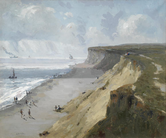 Campbell Archibald Mellon (British, 1876-1955) Hopton cliffs