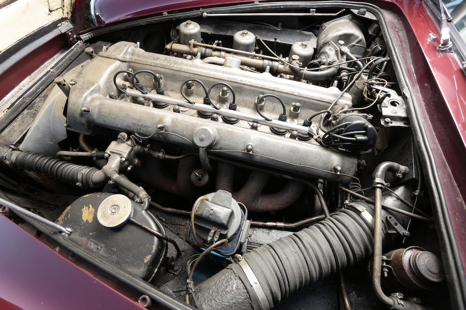Left-hand drive,1962 Aston Martin DB4 Series IV Vantage Convertible  Chassis no. DB4C/1068/L Engine no. 370/1018/SS