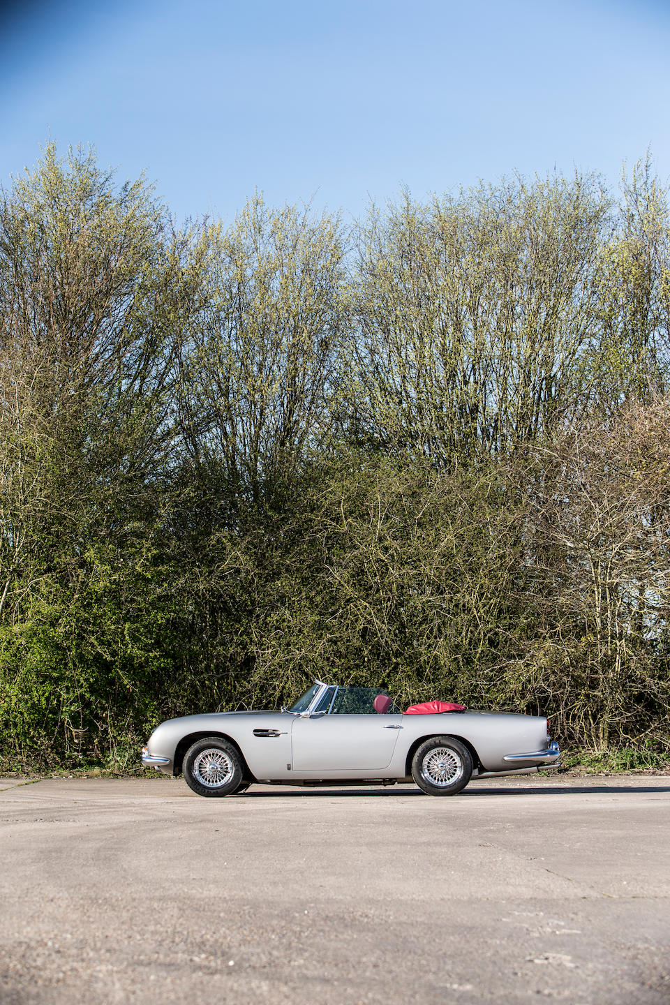 1966 Aston Martin DB5 Convertible to 'Vantage' specification  Chassis no. DB5C/2114/L Engine no. 400/6863