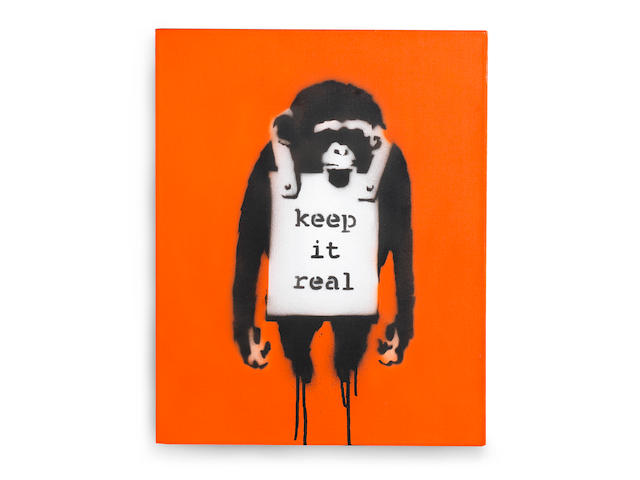 Banksy (b. 1975) Keep It Real 2002