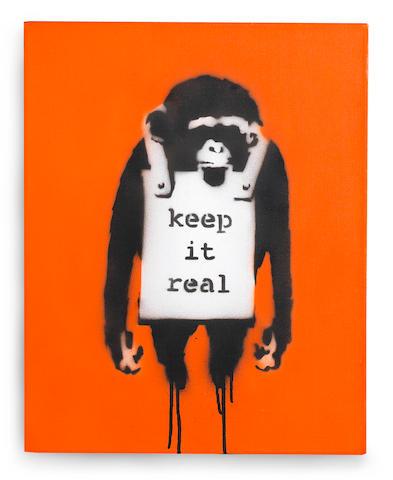 Banksy (b. 1975) Keep It Real 2002