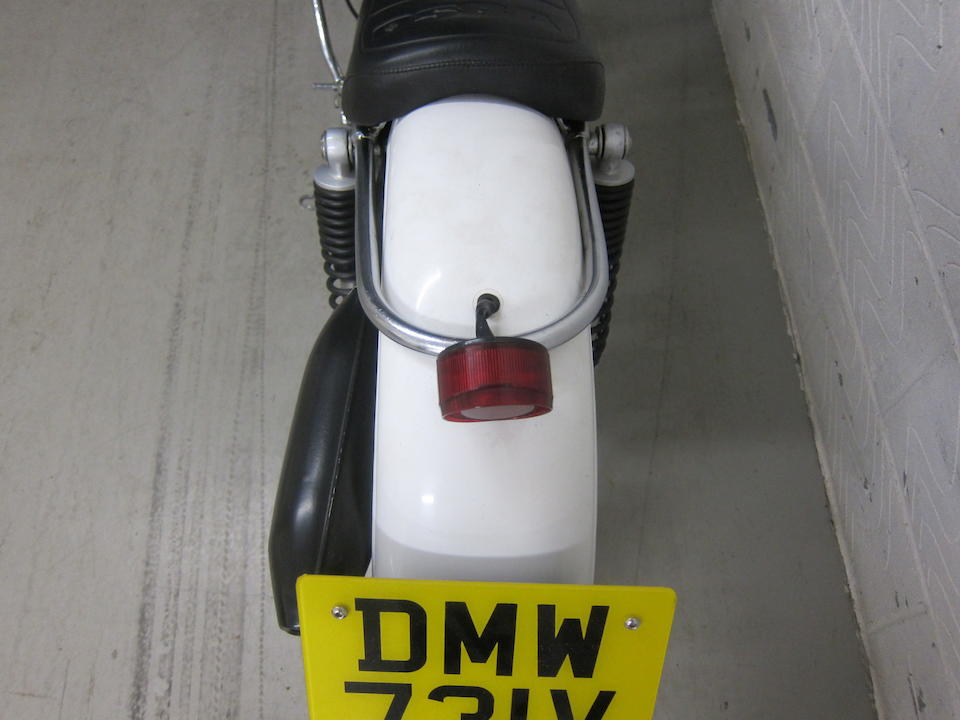 The property of James May,1980 Ossa 250cc MAR Trials Motorcycle Engine no. M340211