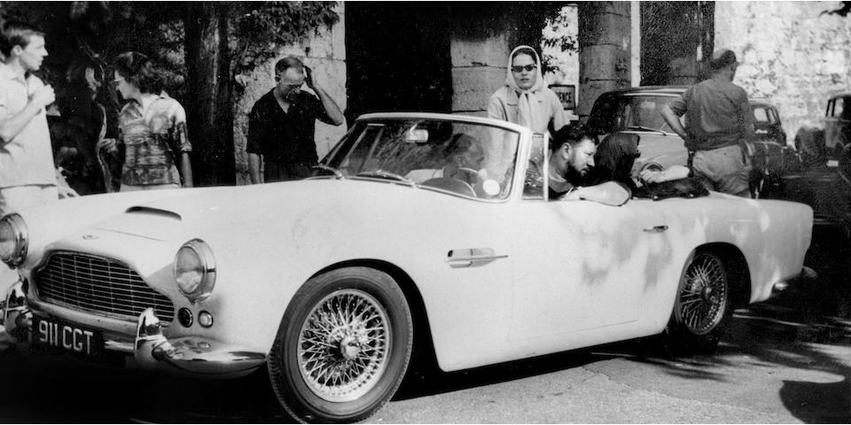 Aston Martin sale offers Peter Ustinov's rare 1962 Aston Martin DB4 series iv