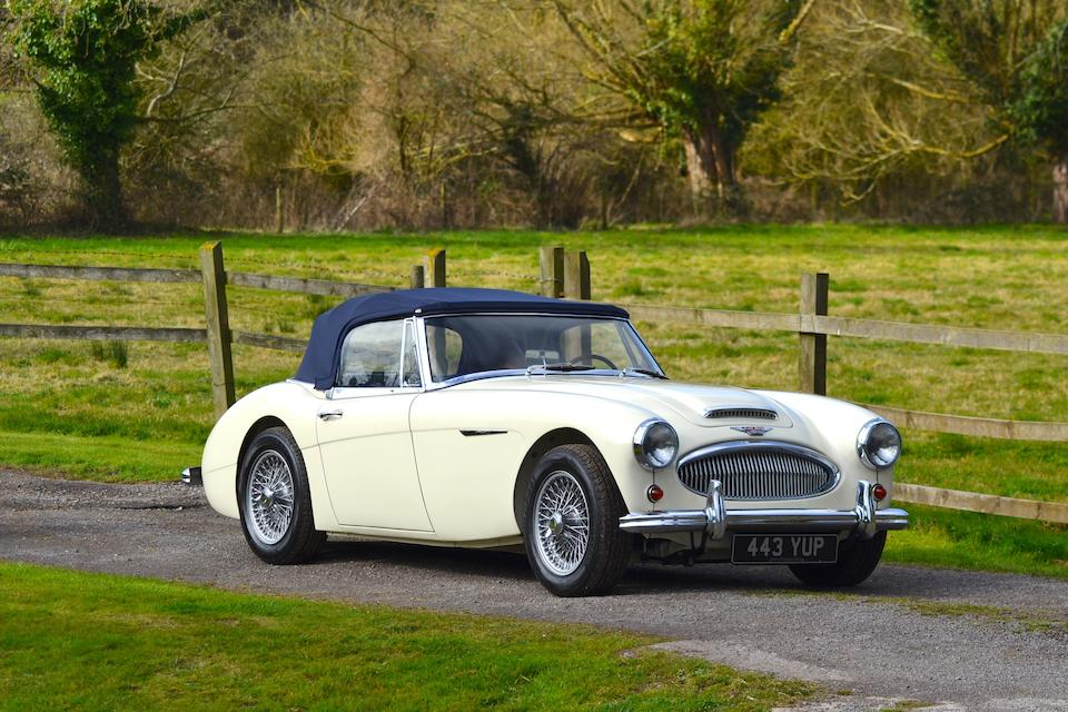 The personal property of John Chatham,1962 Austin Healey 3000 MkII Convertible  Chassis no. H-BJ7-L/19545 Engine no. 29F-RU-H/107