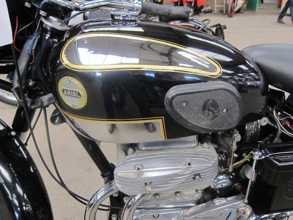 Four miles since total restoration,1958 Ariel 995cc Square Four 4G Mark 2 Frame no. CGM 1586 Engine no. CNML 1584