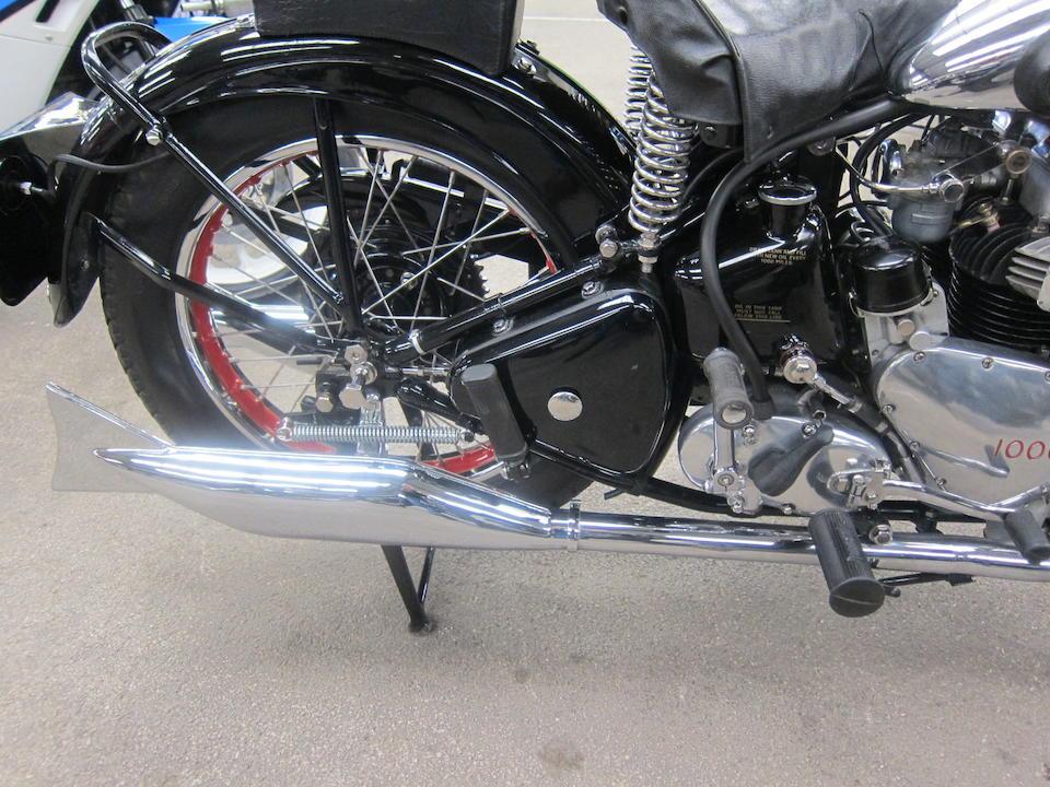 Louis Vuitton Classic Concours Winner,1938 Ariel 997cc Square four Frame no. P1008 Engine no. DE225
