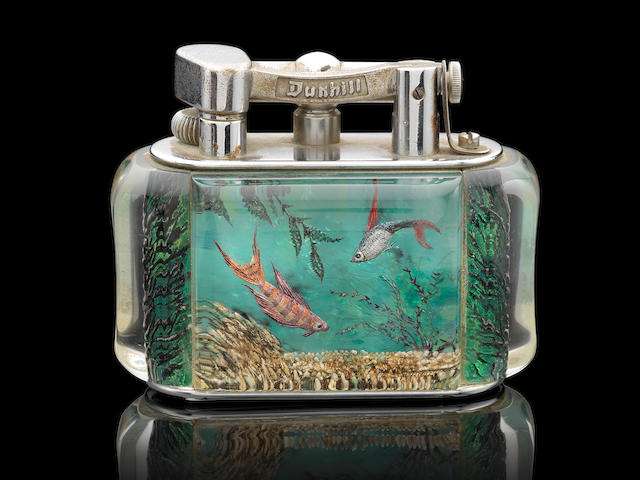 DUNHILL: A good 'Aquarium' lighter
