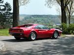One of only 712 produced,1976 Ferrari 308GT Berlinetta Vetroresina  Chassis no. F106AB 19699 