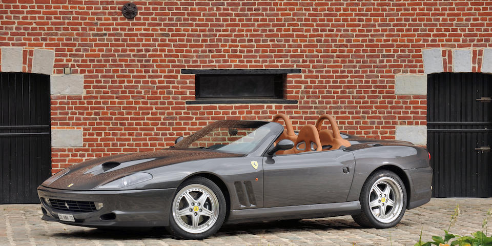 One owner and only 7,000 kilometres from new,2001 Ferrari  550 Barchetta  Chassis no. 124242
