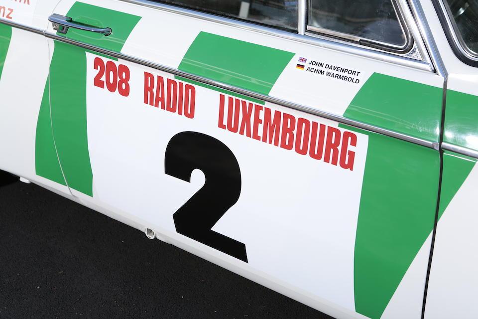 1974 BMW 2002 Rally Car  Chassis no. 3635815 Engine no. 3635815