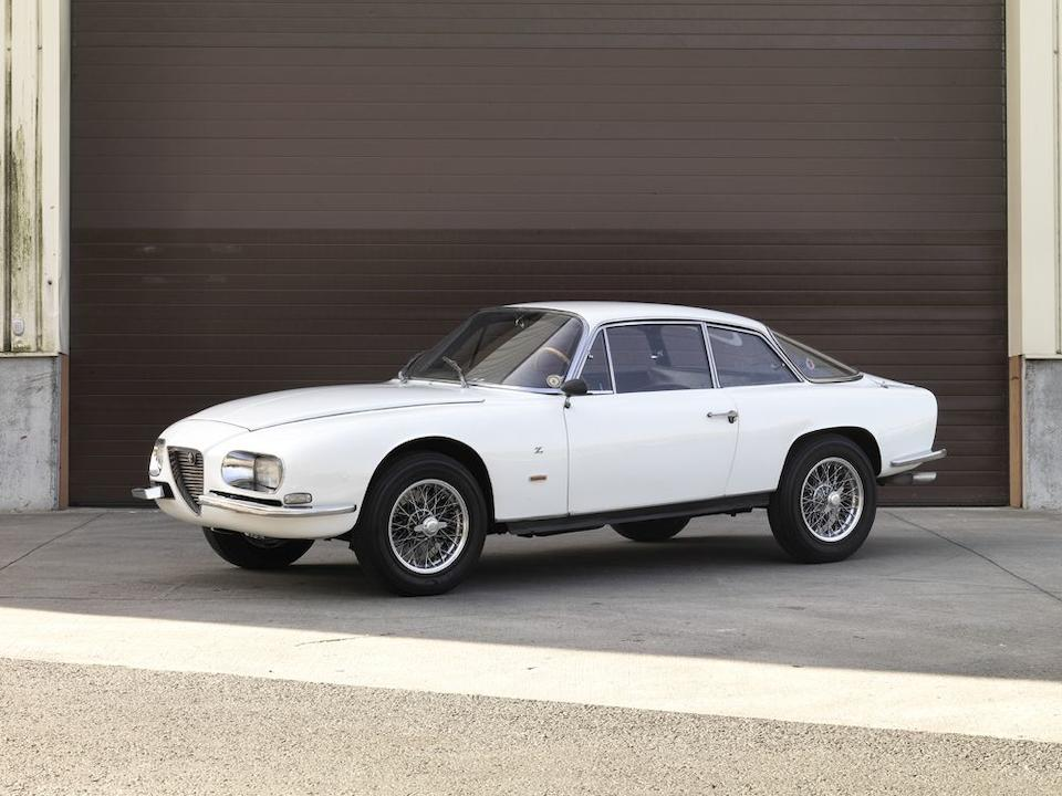 1 of only 105 examples,1965 Alfa Romeo 2600 Sprint Zagato Coupé  Chassis no. 10612AR856015