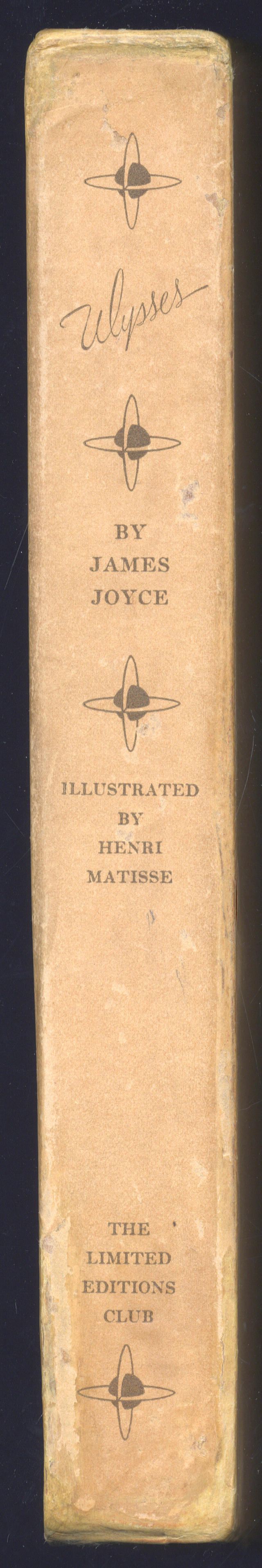 JOYCE (JAMES) AND HENRI MATISSE  Ulysses... with an Introduction by Stuart Gilbert and Illustrations by Henri Matisse, ONE OF 250 COPIES SIGNED BY BOTH AUTHOR AND ARTIS, FROM AN EDITION LIMITED TO 1500 COPIES,  New York, Limited Editions Club, 1935