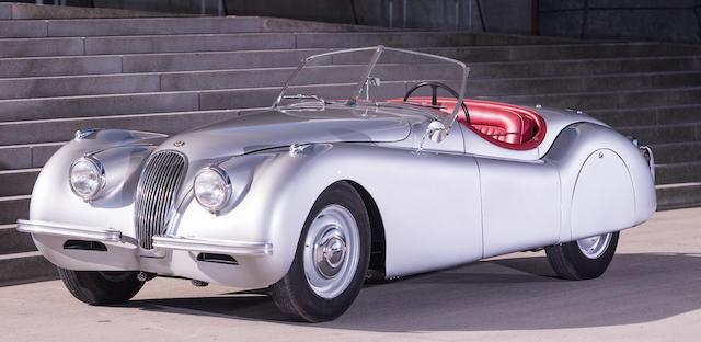 1951 Jaguar XK120 Roadster  Chassis no. 671084 Engine no. W2345-8