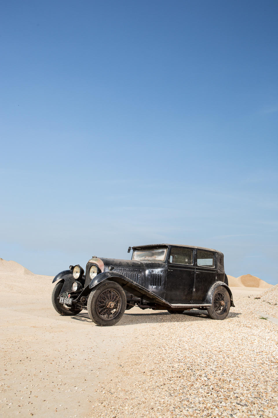 In family ownership since 1935, recent discovery, matching numbers example,1929 Bentley 4½-Litre Sports Saloon  Chassis no. PB3527 Engine no. PB3526