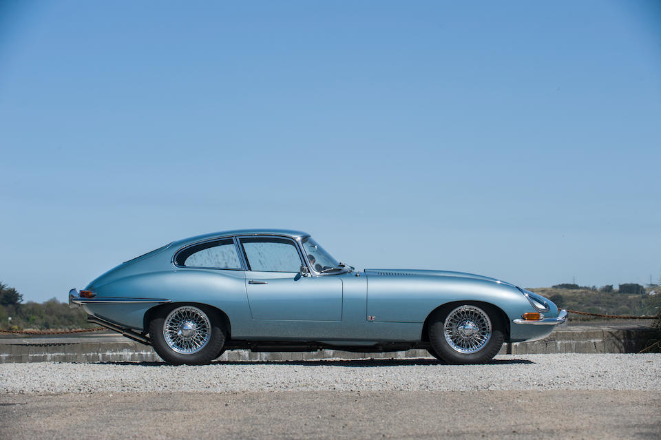 The following two cars are offered from the collection  of recently deceased Jaguar collector, Ron Modell,1964 Jaguar E-Type 'Series 1' 3.8-Litre Coupé  Chassis no. 861664 Engine no. RA6692-9