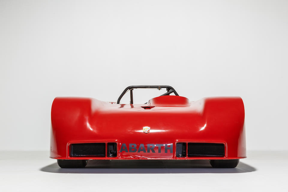 From the Maranello Rosso Collection,1975 Autobianchi Abarth 58/70 Berlina Competition Touring Car  Chassis no. 421667