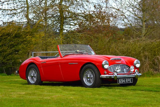 By order of the executors of the late Roger Judkins,1960 Austin-Healey 3000 'Mark I' Roadster   Chassis no. HBT7/11751 Engine no. 29D/RU/H20664
