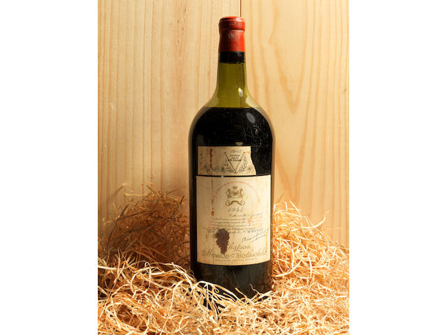 Chateau Mouton Rothschild 1945 (1 magnum)