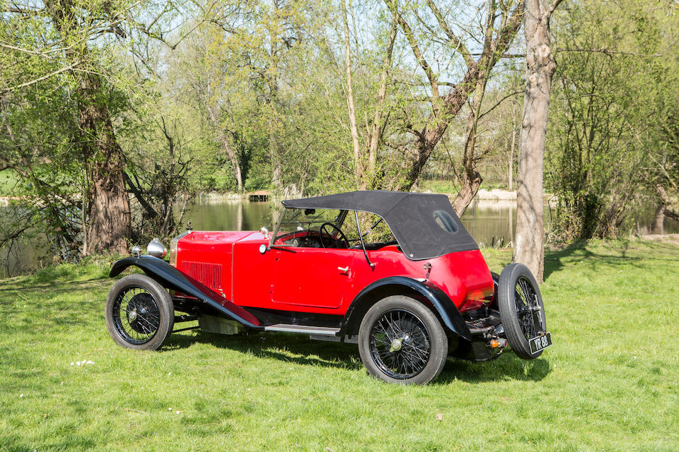 1926 OM 2.0-Litre Type 665 S3 Superba Sports  Chassis no. 25892 Engine no. 665 0080