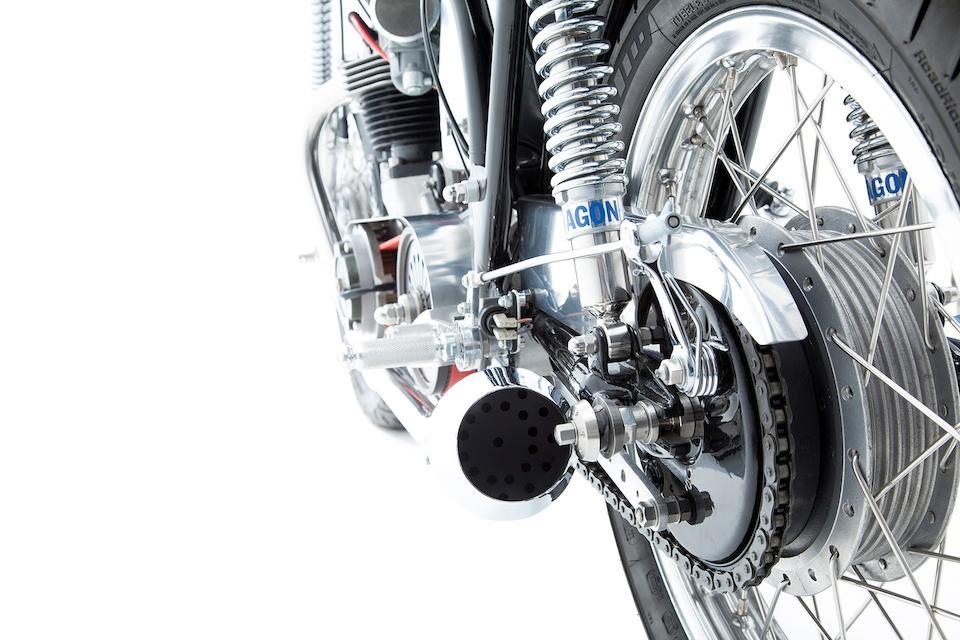 1963 Triton 650cc 'Café Racer' Frame no. 18 100605 Engine no. T120 030280