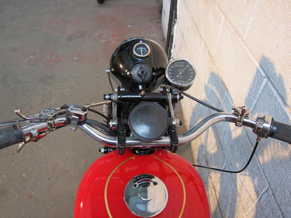 c.1941 Ariel 349cc W/NG Frame no. XG14160 Engine no. BH3335