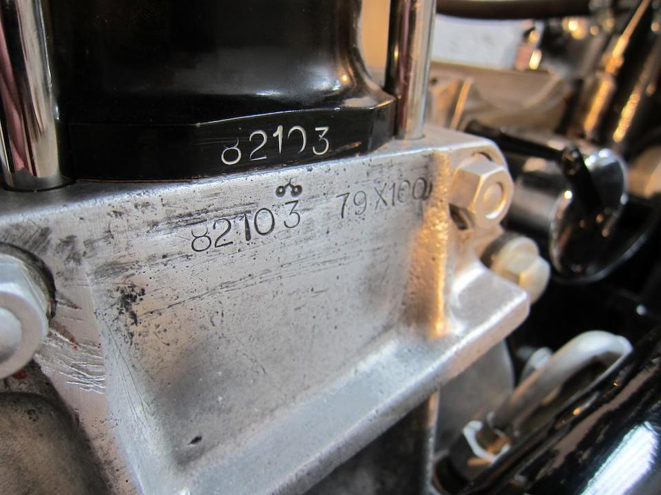 1937 Norton 490cc CS1 Frame no. 8585 Engine no. 82103