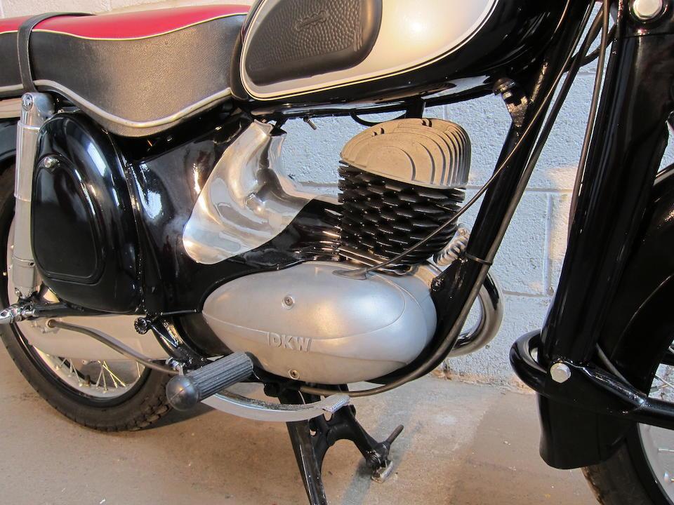 1959 DKW 197cc RT 200VS Frame no. 4559-2177 Engine no. 47075670