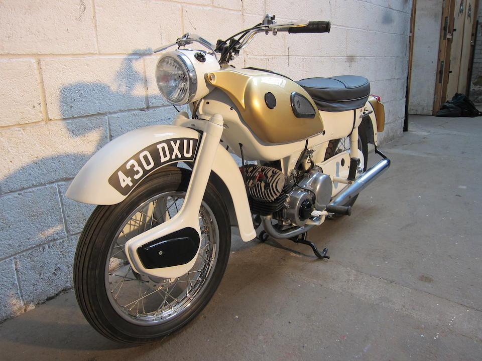 1962 Ariel 249cc Arrow Super Sports Frame no. T28711G Engine no. T28711G
