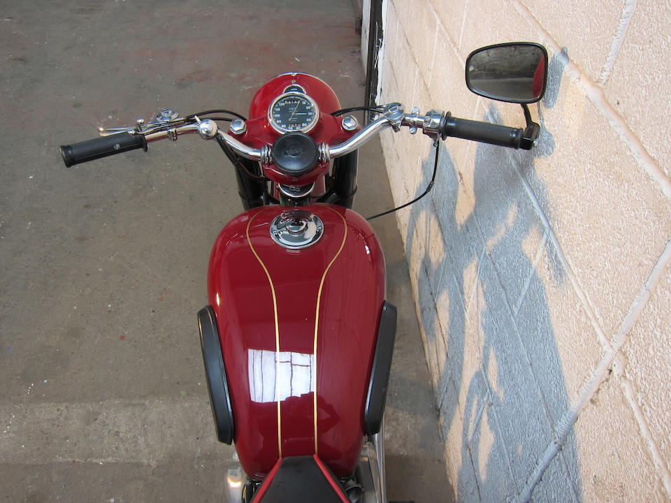 1953 Ariel 349cc NH Red Hunter Frame no. AS454 Engine no. XA370