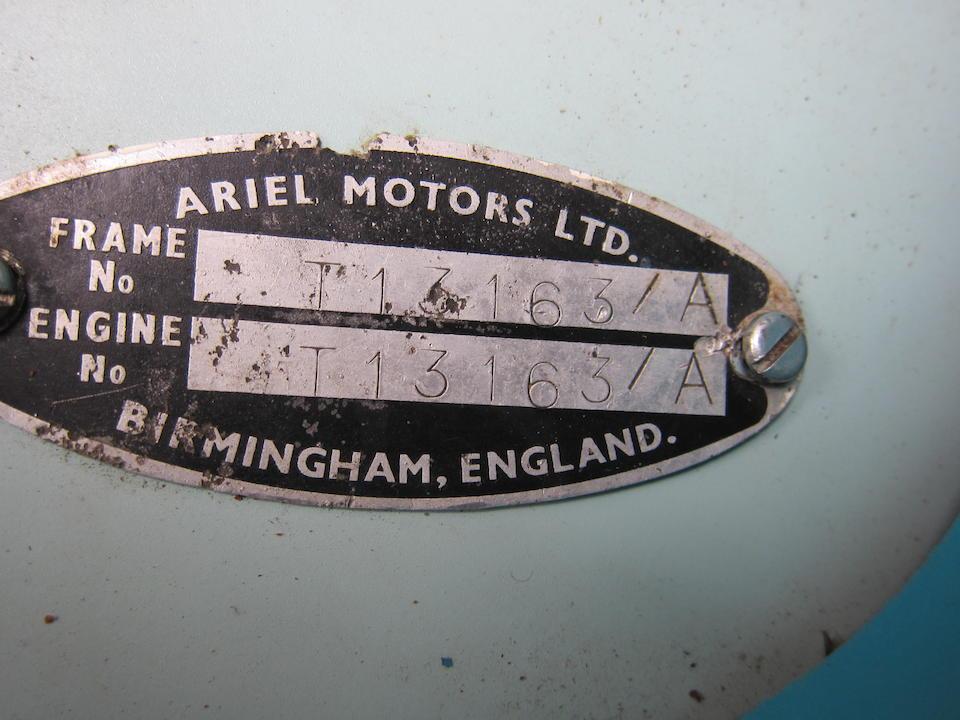 1960 Ariel 249cc Leader Frame no. T13163A Engine no. T13163A