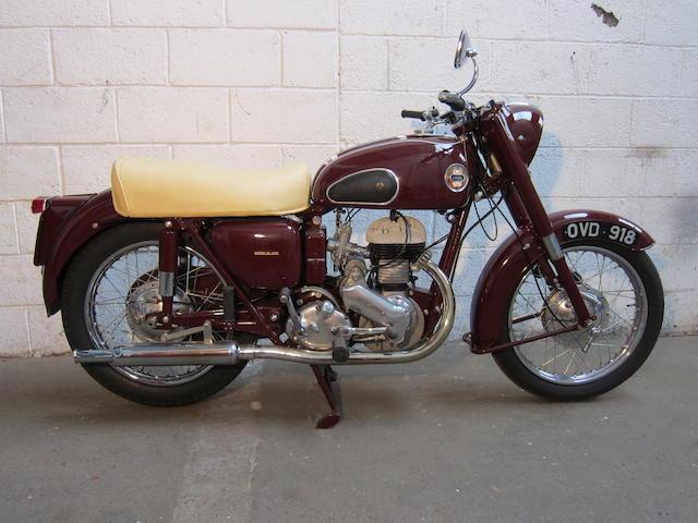 1957 Ariel 599cc VB Frame no. APR8228 Engine no. AMC873