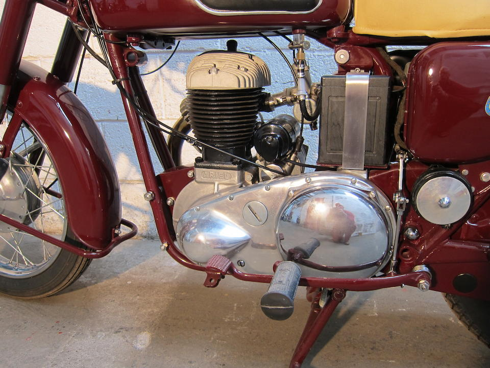 1957 Ariel 599cc VB Frame no. APR8228 Engine no. AMC873