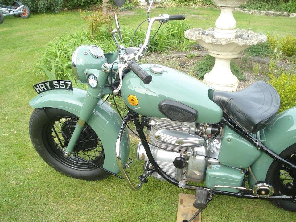 1951 Sunbeam 489cc S7 Frame no. 5305 Engine no. 7630