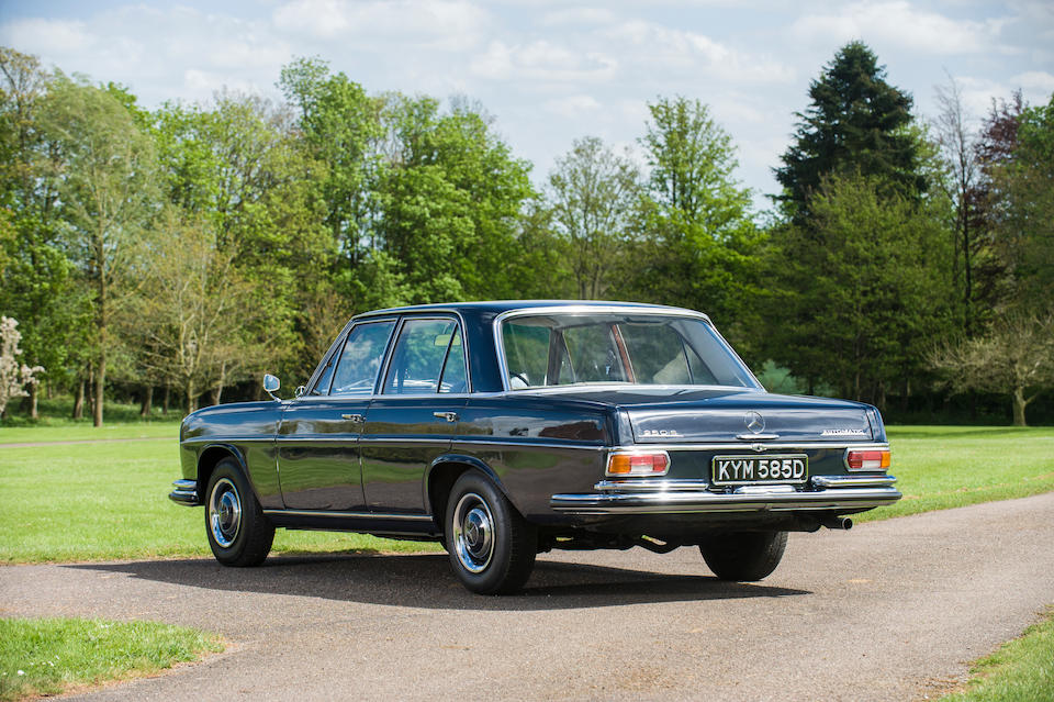The property of Bill Wyman,1966 Mercedes 250 S Saloon  Chassis no. 10801222013267 Engine no. 10892022005086
