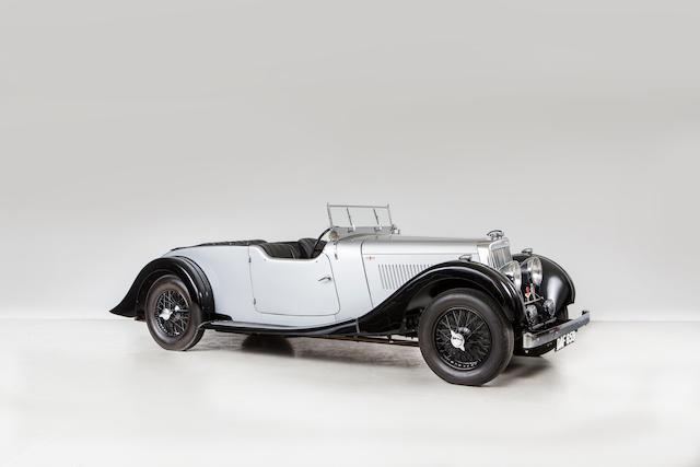 bonhams : 1937 aston martin 2.0-litre 15/98 tourer chassis no. d7