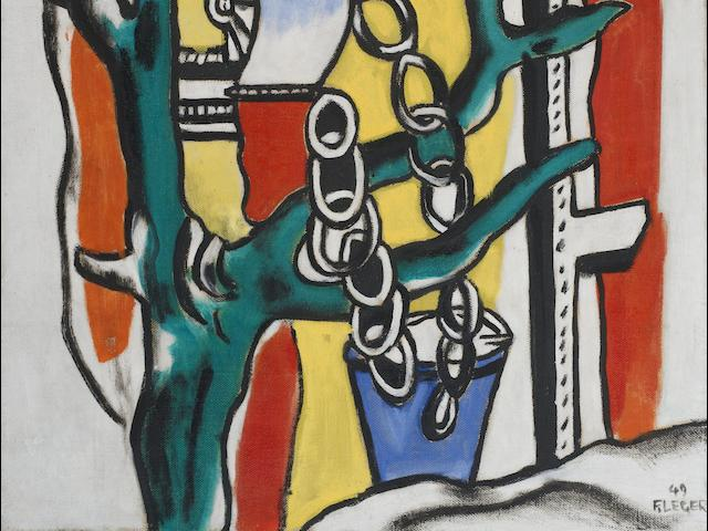 Fernand Léger (French, 1881-1955) La margelle du puits (Painted in 1949)