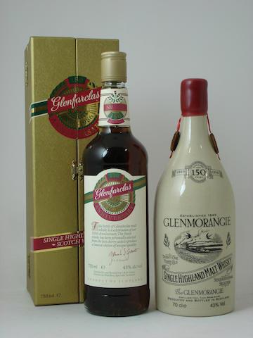 Glenfarclas 150th Anniversary, Glenmorangie Sesquicentennial-21 year old